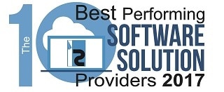 WiTuners Recognized as Top 10 Best Performing Software Solution Providers 2017