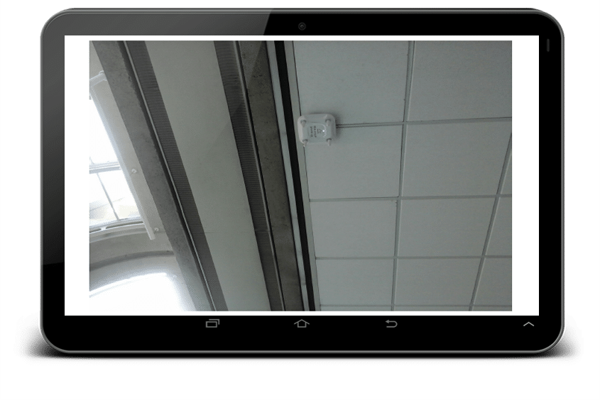 Photo image notes for WiFi site survey