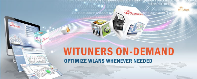 WiFi optimization software WiTuners On-Demand